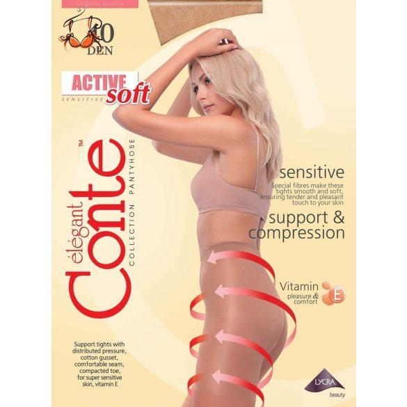 Active Soft E vitaminos alakformáló harisnya, 40 den, 3 db/csomag