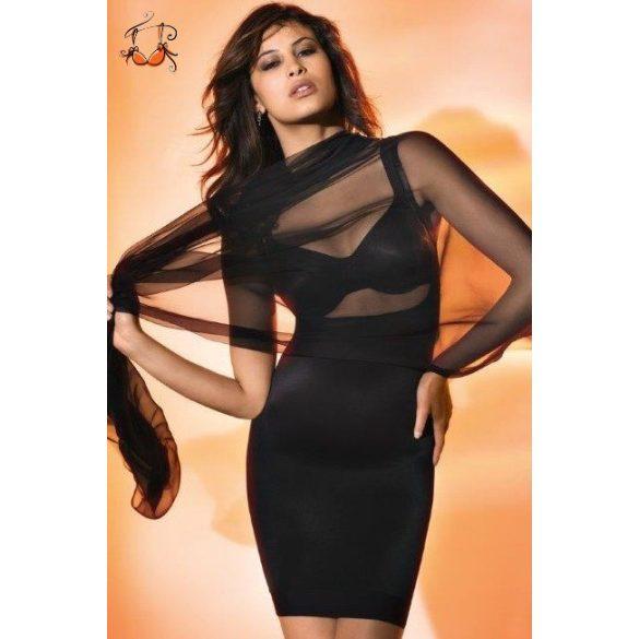 Felina alakformáló ruha, fekete