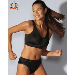 Akciós - Light & Firm kényelmes sportmelltartó, fekete