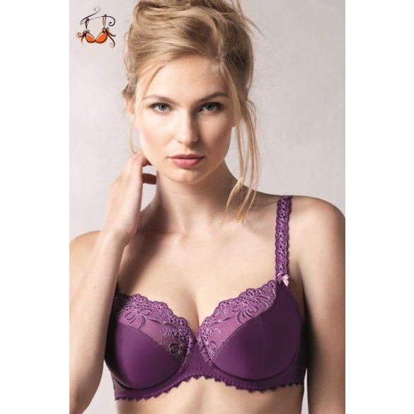 Scarlett csipkés melltartó, purple passion