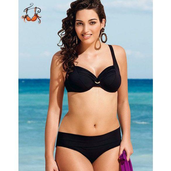 Hermine bikini felső, fekete