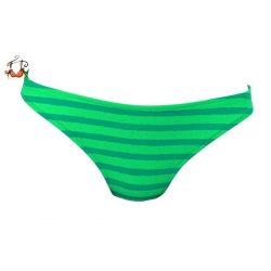 Medium Coronado fürdőruha alsó, zöld csíkos