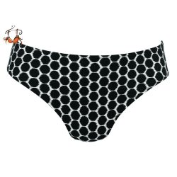Casual Coronado fürdőruha alsó, fekete