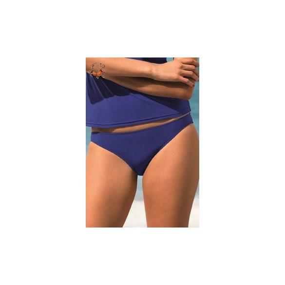 Alacsony derekú bikini alsó, király kék