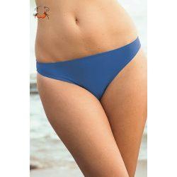 Alacsony derekú bikini alsó, tenger kék