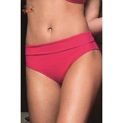 Lehajtható derekú bikini alsó, pink
