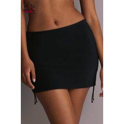 Kim szoknyás bikini alsó, fekete