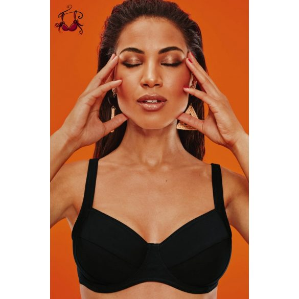 Sibel Island bikini felső, fekete, Anita 2022