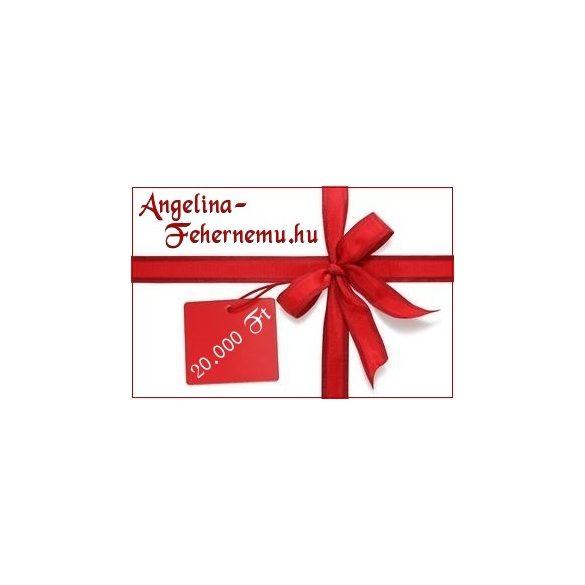 Angelina Ajándékutalvány 5.000-25.000 Ft-ig