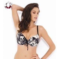 Claudette bikini felső, fekete