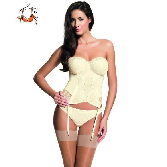 Evie Bridal corset, vanília