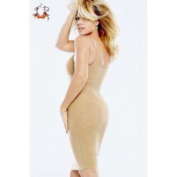 SkinnySkin alakformáló ruha Liptai Claudia ajánlásával, testszín